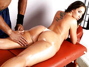 Kelly Divine Gets Her Ass Massaged And Plowed