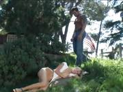 Anal Loving Angel Long Gets Fucked In The Ass Outside