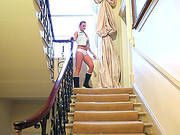 Beautiful Amy Green Gets Naked And Naughty On The Staircase