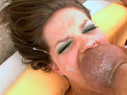 Bobbi Starr Milks A Dick Dry Into Her Mouth And Eats The Cum