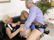 Sextractive Bitch Diana Is Poked In Her Tight Twat