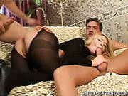 Bootyful Blondie Alice Gets Double Penetrated