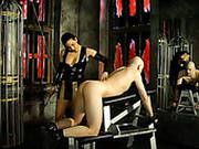 Sexploitress In Latex Alexa Punishes Her Boyfriend