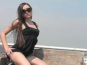 Cute Girl Looses Control And Masturbates Outdoors