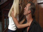 Blonde Allysin Chaynes Gets Nice Cumshot In Da Face!