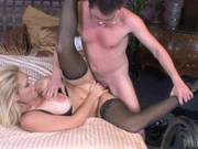 Vivacious Charley Chase Enjoys A Rough Pussy Pounding