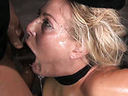 Epic Deep Throat Done By Busty Blonde Angel Allwood