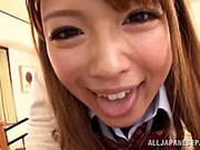 Ayumu Sena Bewitching Asian Teen Is An Amateur On Camera