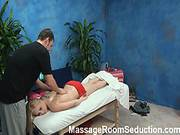 Alyssa Seduced And Fucked By Her Massage Therapist On