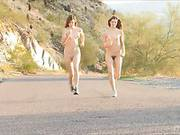 Small Titted Bimbos Raylene Ftv And Romi Ftv Are Baring Off Their Cute Tiny Bodies