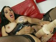 Sexy Angela D Angelo Loves Toying Her Juicy Moist Slot