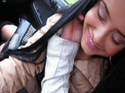 Horny Girlfriend Anna Rose Gets Raw Dogged In The Car