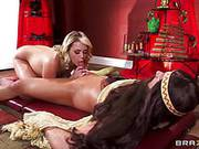 Hot Blonde Mia Malkova Is Rubbed Then Mouth Fucked With Dick Then Sliding Into Her Pussy