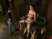 Chained Anastasia Pierce Gets Tortured With Water And Butt Hook