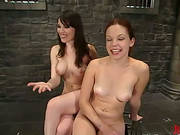 Lesbian Femdom Vid With Redhead Eating Pussy And Strapon Fucked