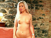 Solo Scene With The Gorgeous Blonde Candy Blond